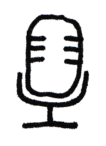 illustration of microphone